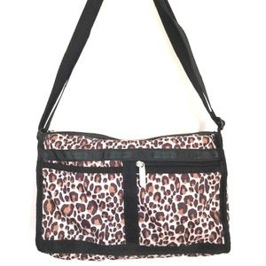 LeSportsac Leopard Deluxe Everyday Bag & Pouch